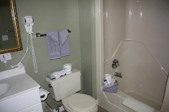 Christmas Farm Inn & Spa: Bathroom in 'Vixen'