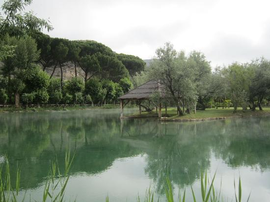 Hotel Termas Balneario Pallares: Foto del lago