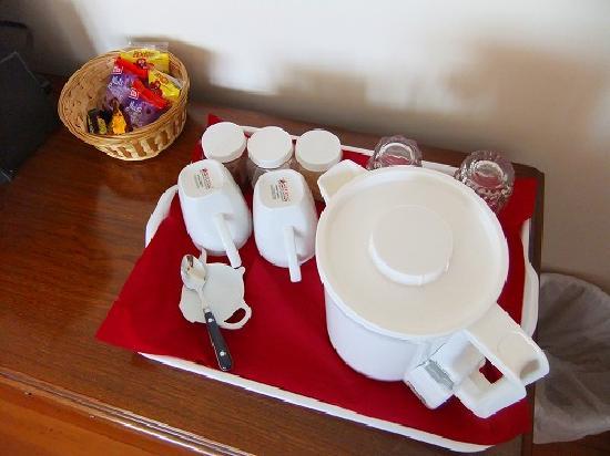 Girvan Bed & Breakfast: コーヒー