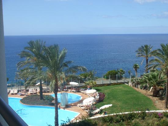 Lti Pestana Grand: A view from the balcony.