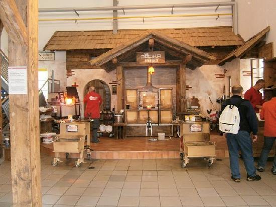 JOSKA Bodenmais: Glasbläserei für Besucher