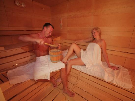 Wellness-und Landhotel Prinz: Finnische Sauna