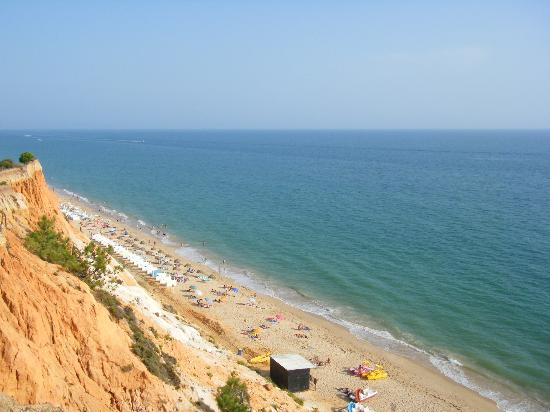 Falésia Hotel: Part of the lovely beach