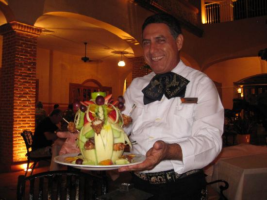 Excellence Riviera Cancun: Special starter at Agave