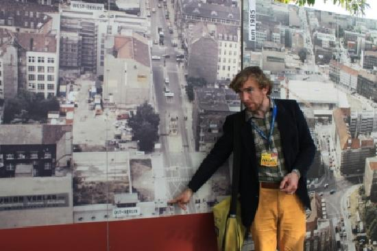 """Insider Tour: Tour Guide Michael at """"Checkpoint Charlie"""""""