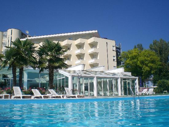 Hotel Leonardo Da Vinci Terme & Golf: Piscina