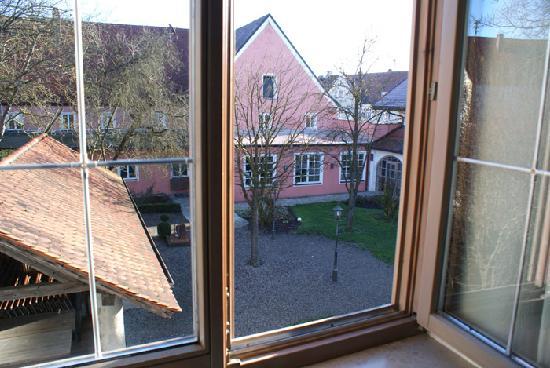 Zum Klosterbrau: Blick aus Fenster