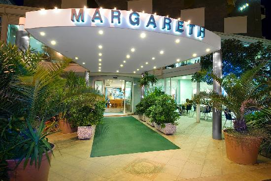 Ingresso Hotel Margareth Riccione