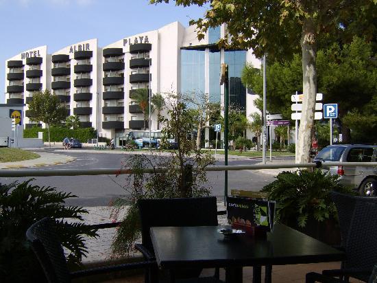 Albir Playa Hotel & Spa: terug zicht vab iets verder weg