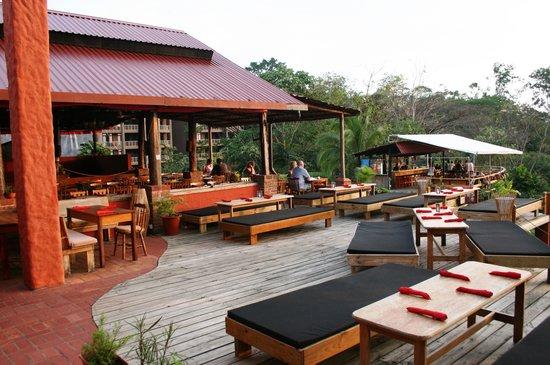 Barba Roja Restaurant: starlight lounge area