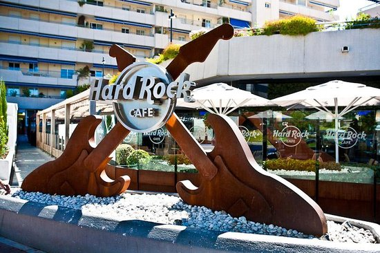 hrc marbella picture of hard rock cafe marbella puerto banus tripadvisor. Black Bedroom Furniture Sets. Home Design Ideas