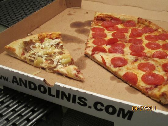 Andolini 39 s picture of andolini 39 s pizza charleston for Andolinis