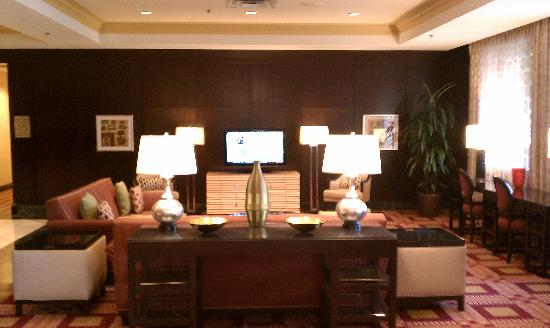 Dallas Marriott Suites Medical/Market Center: Hotel Lobby Area
