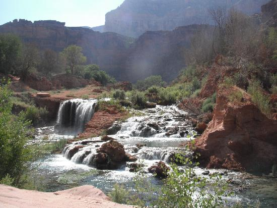 The Wildland Trekking Company: The first set of waterfalls you see...