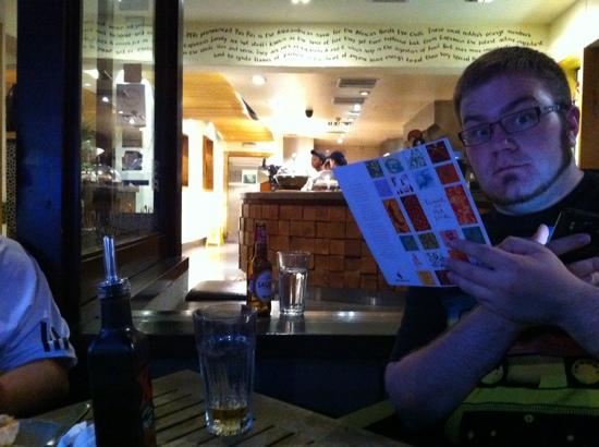 Nando's - Wembley: Ross at his finest!!!