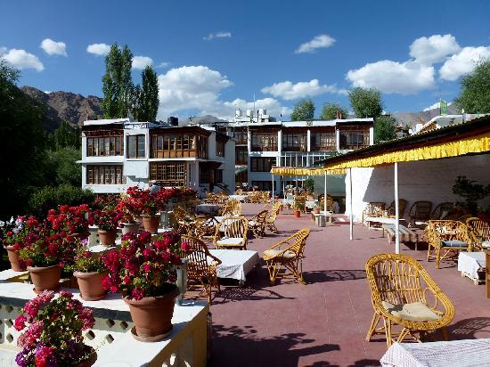Hotel Omasila: La terrasse de l'Hôtel O'Masilia