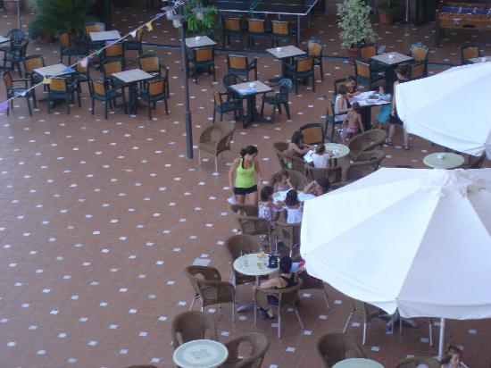 Hotel Victoria Playa: terraza