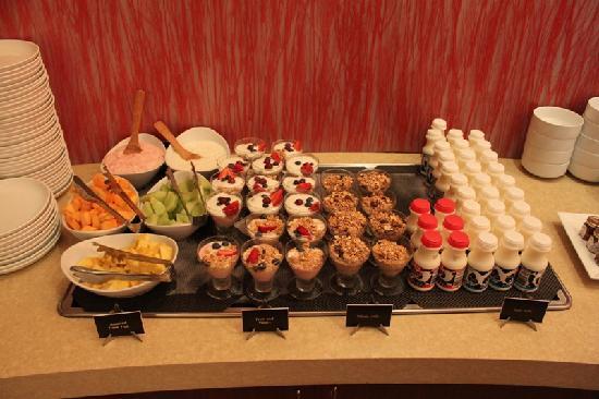 The Palms Hotel & Spa: Ein kleiner Teil des umfangreichen Frühstücksbuffets