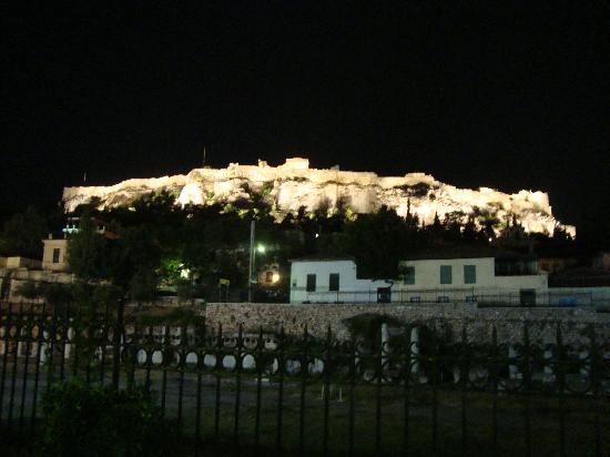 อะโครโปลิส: Acropolis de noche