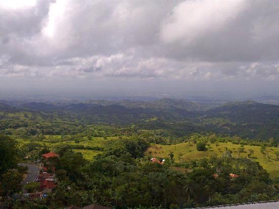 Moca, Dominicaanse Republiek: Vista desde el Hotel