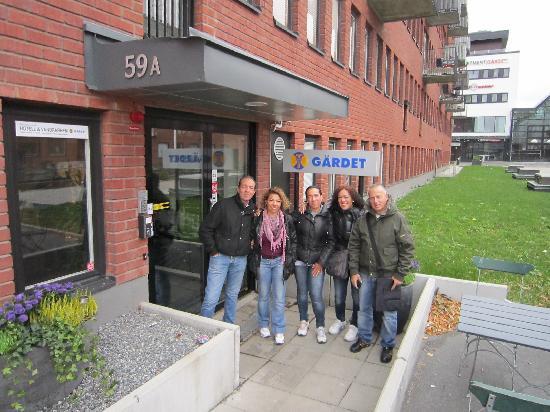 STF Gardet hotel & hostel: ingresso hotel