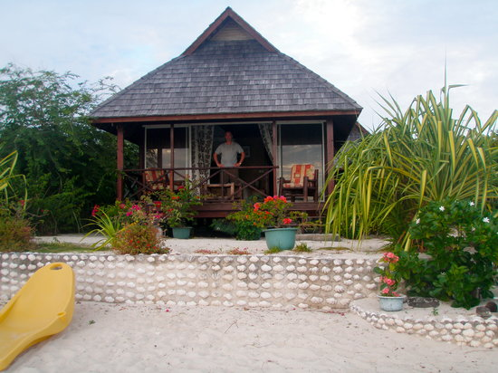 Maupiti Island, Polinesia Francesa: Beach Bungalow