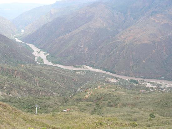 Parque Nacional de Chicamocha: vista panoràmica