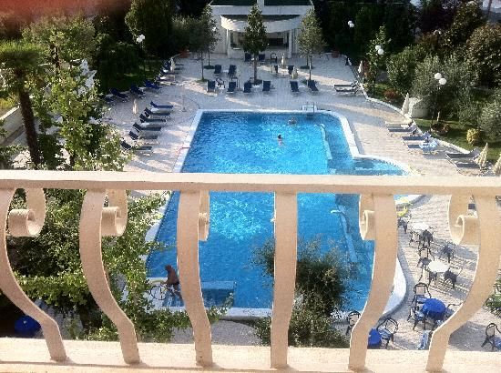 Hotel La Residence & Idrokinesis: Vista dalla camera