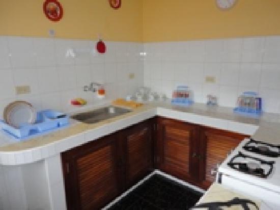 Hostal Raul y Olga: Kitchen