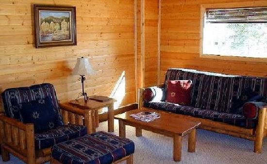 Laguna Vista Lodge: Living Room