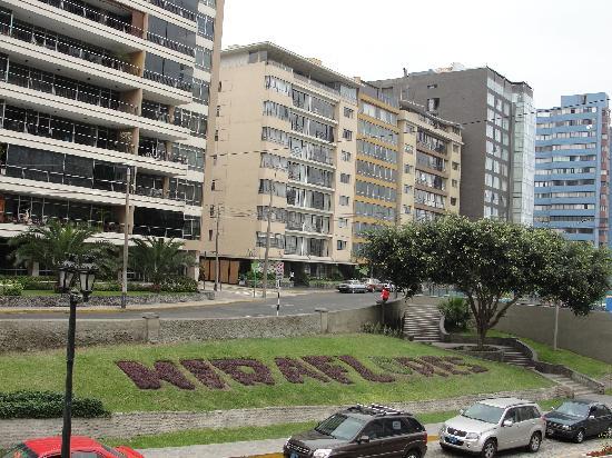 Crowne Plaza Lima: Sector en que se ubica el Hotel