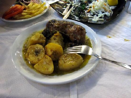 Aegean: Oven Baked Chicken And Potatoes