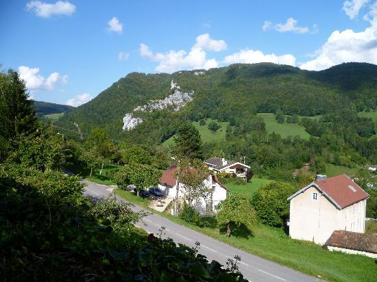 Hotel Taillard : view towards Switzerland