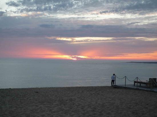 La Co(o)rniche: Coucher de soleil sur le Cap ferret