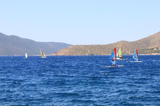 Club Med Bodrum Palmiye : View from Beach