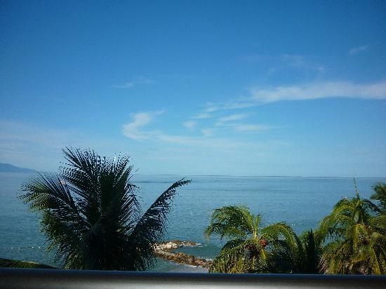 Club Regina Puerto Vallarta: vista desde el balcon