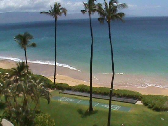 Royal Lahaina Resort: vista dal terrazzo della camera