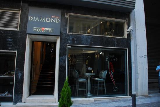 Athens Diamond Homtel: Entrance
