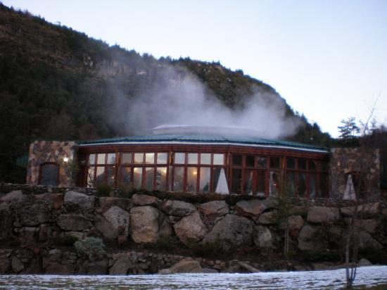 Malalcahuello Thermal Hotel & Spa: Piscina exterior