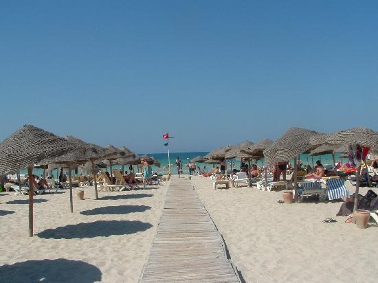 Djerba Sun Club: La plage du Sun Club