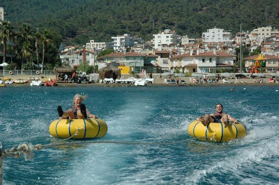 Paloma Pasha Resort: The water activities were many