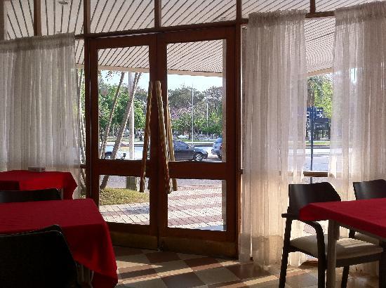 Hotel Plaza: Vista del comedor