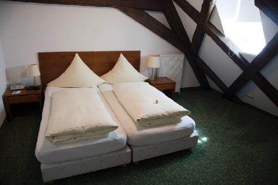 Altstadthotel Molitor: Camas
