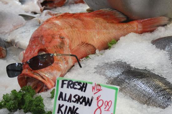Pike Place Market: Cool Fish