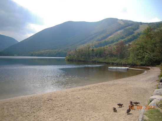 Conway, NH : Echo Lake, New Hampshire