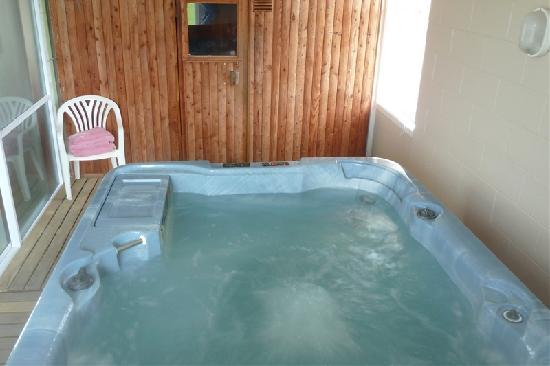 Monarch Motel: spa & sauna