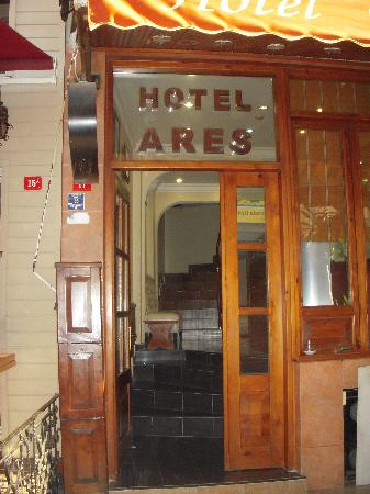 Ares Hotel Istanbul: Hotel Ares.