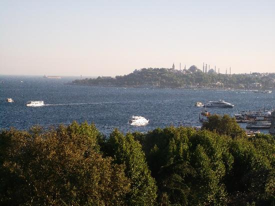 Swissotel The Bosphorus: View from the Room