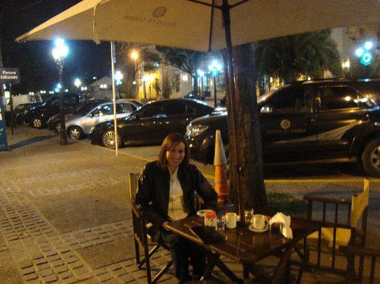 Hotel Patios de Lerma: La parte de afuera del hotel