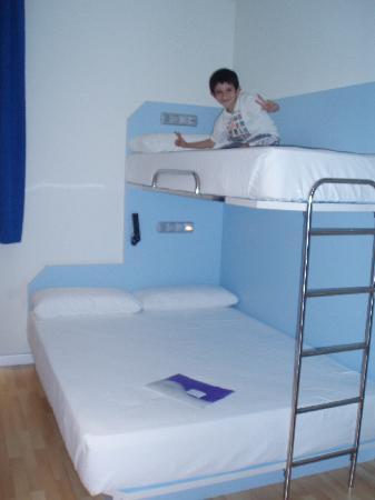 iSleep Hotel: Las camas...